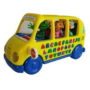 1999 Leap Frog Alphabet Talking School Bus