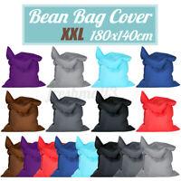 Large Bean Bag Cover Indoor/Outdoor Beanbag Garden Home Waterproof BIG Cushion