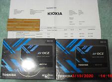Brand New, Factory Sealed:  Toshiba OCZ Vector 180 SSD Hard Drive.  Newest Model