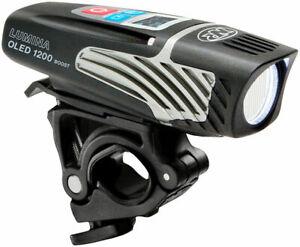 Niterider Lumina OLED 1200 Boost Lumens LED Bicycle Headlight USB Rechargeable