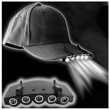 LED Baseball Cap Hat Light Head Torch Headlamp for Fishing Camping Bike Hiking