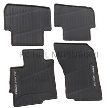 2018 GENUINE MITSUBISHI ECLIPSE CROSS ALL WEATHER RUBBER MATS FLOOR MZ314979