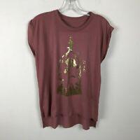 Disney Beauty And The Beast Enchanted Castle Women/'s T-Shirt