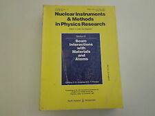 Nuclear Instruments & Methods in Physics Research Conference 1987 Beam Interacti
