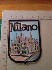 TOPPA PATCH IN materiale plastico d epoca CITTA' DI MILANO