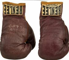 Extraordinary Rocky Marciano Signed 1956 Boxing Gloves (2) With PSA DNA COA