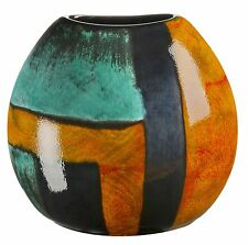 Poole Pottery Ceramic Gemstones Purse Vase 18.5cm First Quality UK Made New