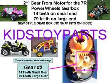 Power Wheels 2nd Second Gear From Motor Dune Racer Eliminator Buggy Gearbox #7R