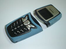 New Nokia 5210 cover keypad housing fascia set blue colour