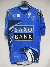 Maillot cycliste Team SAXO BANK 2012 Sportful shirt jersey CONTADOR SORENSEN M