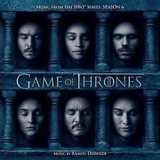 LE TRONE DE FER SAISON 6 (GAME OF THRONES) MUSIQUE SERIE TV - RAMIN DJAWADI (CD)