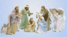 Seraphim Classics By Roman 2007 Nativity Holy Family And 3 Kings Wise Men
