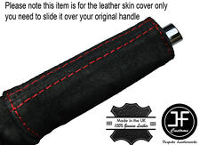 Black /& grey cuir d/'urgence e frein poignée capot fits camaro firebird 93-02