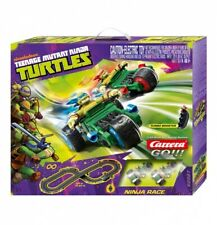 Carrera GO!!! Turtles Ninja Race Slot Car Set 62327 NEW NIB 1/43