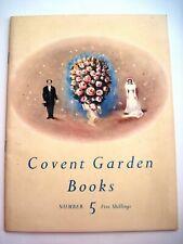 "1949-1950 ""Covent Garden Books Number Five""  ""The Sadler's Wells Ballet""    *"