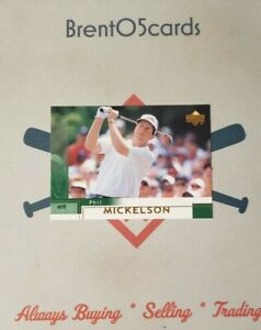 *~READ~* 2002 Upper Deck Phil Mickelson #41 Rookie RC Masters PGA Champion (QTY)