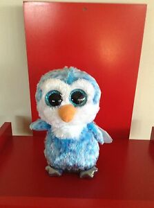Ty Beanie Boos Ice Cube the Penguin. 6 inch NWMT. IN STOCK NOW.