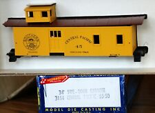 Central Pacific  34' Side Door Caboose Kit #3114 MDC Roundhouse HO