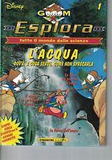 ESPLORA - GIOVANI MARMOTTE - N.1 - L'ACQUA - DE AGOSTINI JUNIOR - 1997