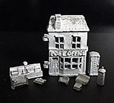 1/12 Scale Dolls House - Post Office toy dollshouse - HS43U - Pewter