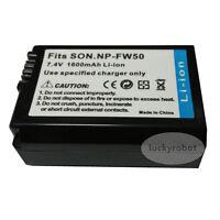 NP-FW50 Battery For Sony A35 and A33 A55  NEX-3 NEX-5 NEX-C3 NEX-5N NEX-7