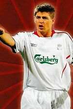 CALCIO FOTO > Steven Gerrard Liverpool 2005-06