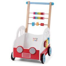 Trotteur pour Bébé Pousseur Activité Marcheur enfant bois jeux Henry Baby Vivo