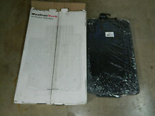 NEW WEATHERTECH W25 ALL WEATHER FLOOR MATS 2ND ROW RUBBER BLACK PAIR