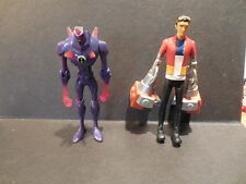 "Ben 10 Purple Chromastone Figure 4""  & Generater Rex"