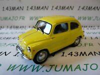 PL13 VOITURE 1/43 IXO IST déagostini POLOGNE : FIAT 600 D jaune