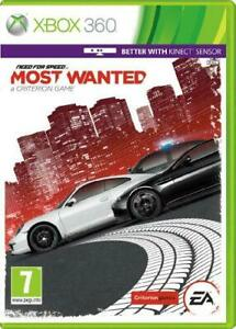 Need for Speed Most Wanted (Xbox 360), Very Good Xbox 360, Xbox 360 Video Games