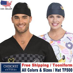 Cherokee TOONIFORMS Unisex Print Scrub Hat Scrub Cap