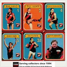 1993 Essendon AFL Premiership Collectable Metal Card Tin Set(21 Metal cards)