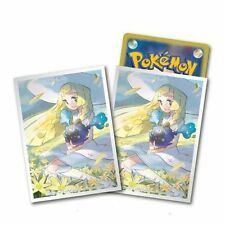 Pokemon Center Exclusive Card Sleeves Premium Gloss Lillie and Cosmog (64) Count