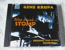 Gene Krupa - Wire Brush Stomp - Scarce Mint Cd Album