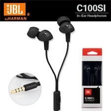 JBL - Harman C100SI In Ear Headphones Stereo Earphone Free Shipping Black