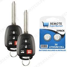 car remote entry system kits for 2016 toyota rav4 ebay2 replacement for toyota 2014 2016 camry 2013 2015 rav4 remote car key fob