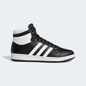 adidas Originals Mens Top Ten High shoes black