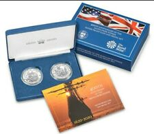 More details for free ndd: 2020 400th anniversary the mayflower silver proof coin & medal set ltd