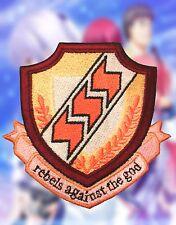 Ange Beats Symbol Shinda School Uniform Cosplay Anime Embroidered Iron-on Patch