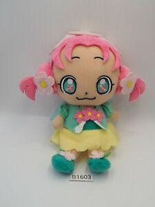 """Maho Girls B1603 PreCure Pretty Cure Ha-Chan Plush 7"""" Bandai 2016 Plush Doll"""
