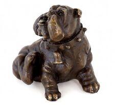 Animal bronce-canto característico inglesa Bulldog-bronce de Viena