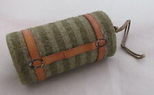 Old Dresden Paper Flannel Blanket Rolled Christmas Ornament Candy Container