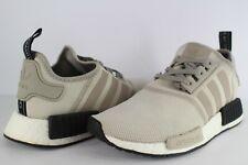adidas NMD R1 Cream Khaki Off White Black White Size 8.5 S76848 Boost