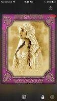 Topps Star Wars Digital Card Trader Purple Fashion Of Queen Amidala Insert