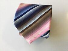 Sergio Alvajee Pure Silk Tie - Made in Italy - Mod-Retro Styling - New