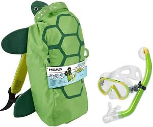 Head Sea Pals Junior Dry Snorkeling Mask/Snorkel Combination Kit Ages 8 to 12