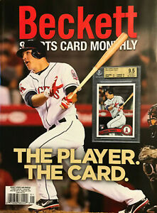 Used January 2021 Beckett Sports Card Monthly Price Guide Magazine W/ Mike Trout