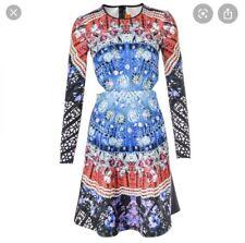 Clover Canyon Cut Out Jewel Print Dress M