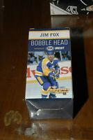 JIM FOX RARE LEGENDS  LOS ANGELES KINGS BOBBLEHEAD NEW IN BOX NHL LTD ED SGA
